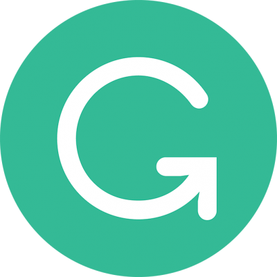 Green background with letter G