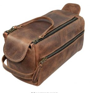 Brown Leather bag rectangular